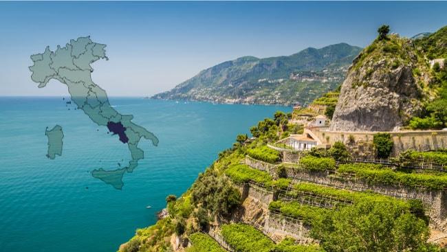 Винодельческий регион Кампания