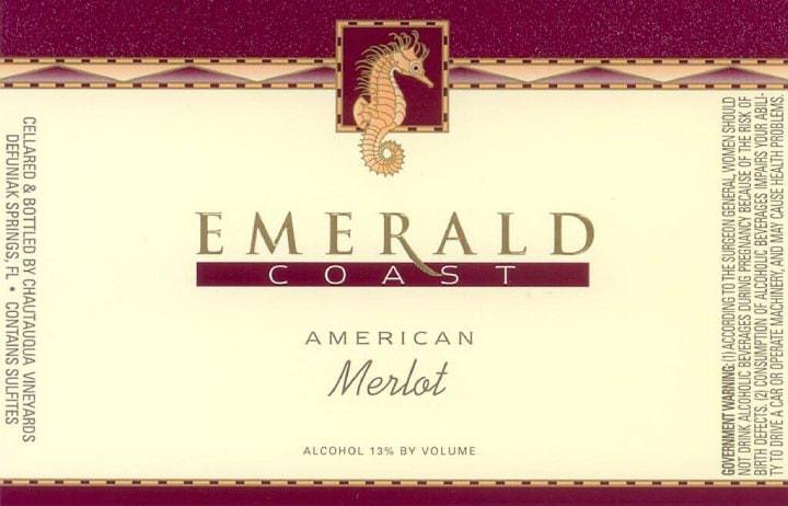Американское вино из сорта мерло