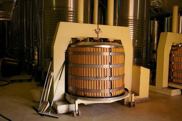 Корзиночный пресс для винограда